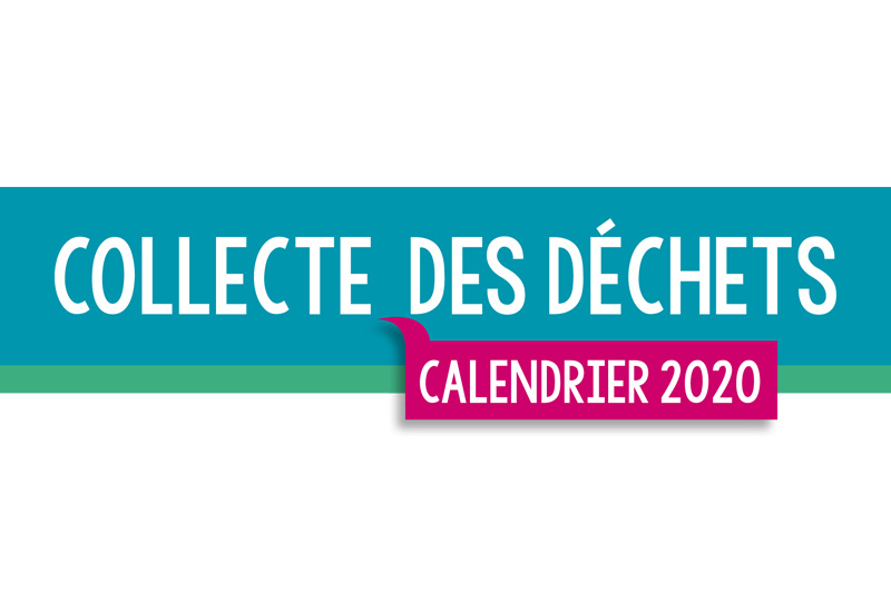 Collecte des déchets 2020 – Calendrier